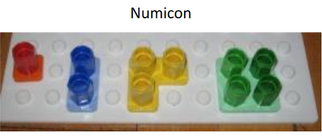 Numicon shapes with pegs - Oxford University Press