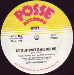 Mynk - Get Up An' Dance (With Me)