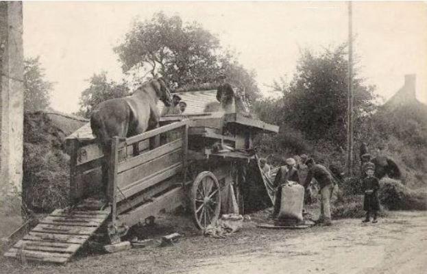 Souvenirs de Pierre Roy : la ferme du grand-père Bornot à Saint Germain le Rocheux