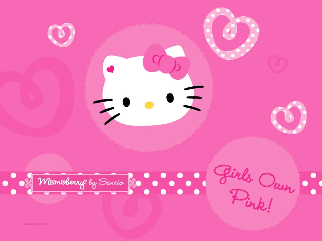 Wallpapers Hello Kitty Rosepink Le Coin Kawaii