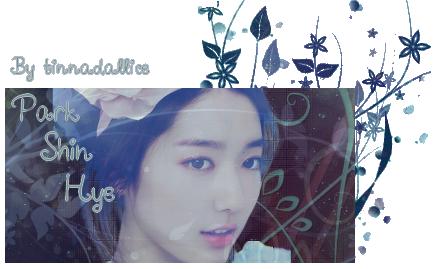 Sign'a Park Shin Hye (2 versions)