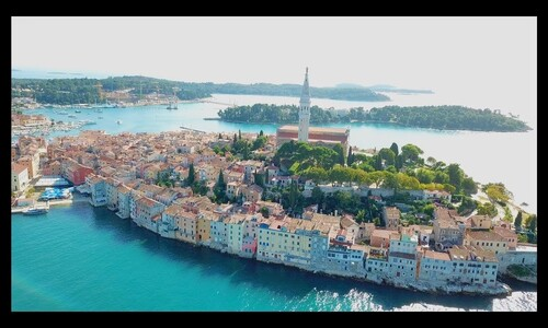 CROATIE. By Drone, 4k  (Voyages)