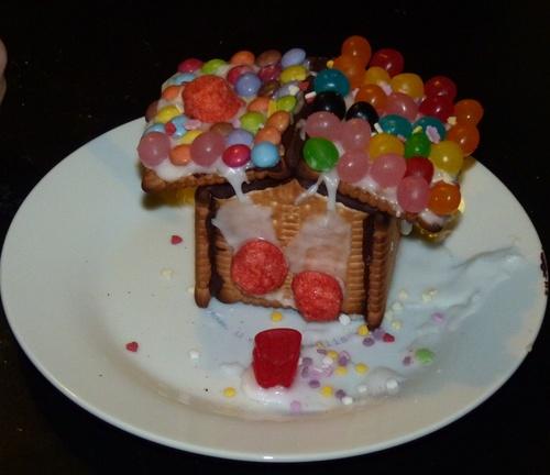 Maison en petit beurre