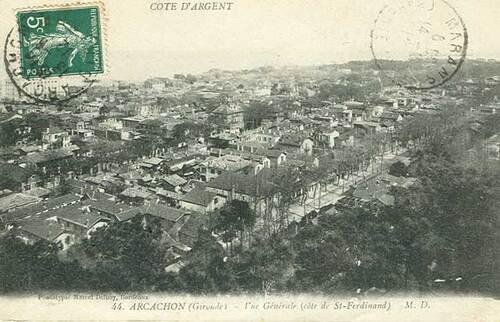 Le grand Almanach de la France : La France d'autrefois : Arcachon