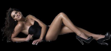 femme sexy maillot noir