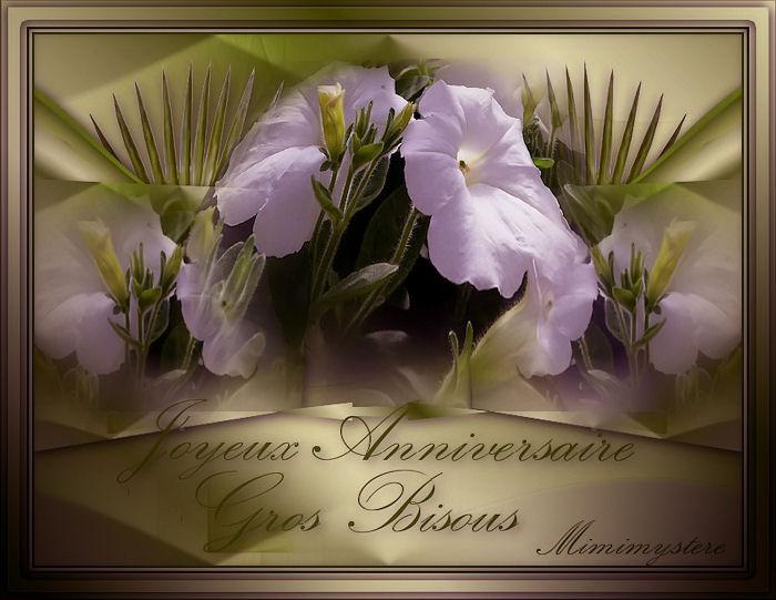 Bonjour à vous mes amies et amis ,merci de votre visite,je souhaite une Joyeux anniversaire à toute celles et ceux que j'ai oublié , désolée, gros bisous Mimi