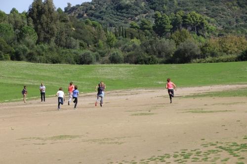 Courir (et gagner !) à Olympie