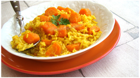 RISOTTO TOUT ORANGE""""