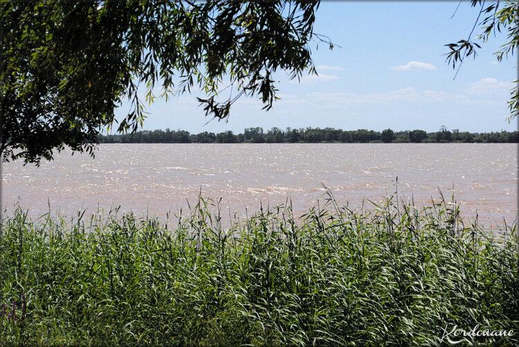 Photo de l'estuaire de la Gironde