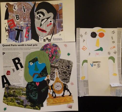 Collage au musée de l'imprimerie