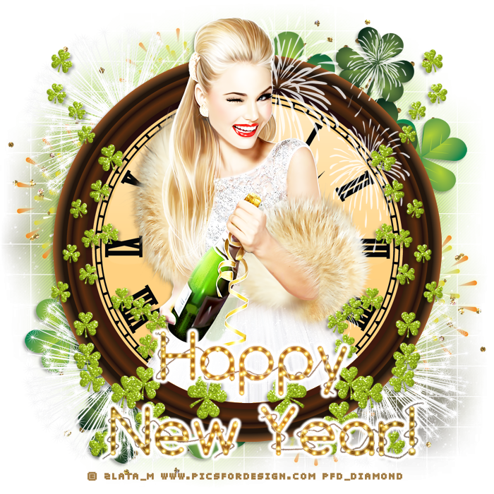 "Tutoriel Happy New year"" de Jewel chez Delire2scrap"
