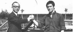 Raymond Chow et Bruce Lee