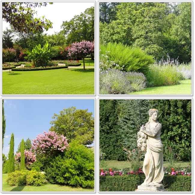 Chateau de Beaulon, jardin et pigeonnier