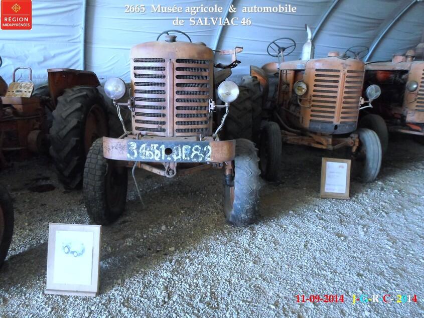 VACANCES 11/09/2014 musée de SALVIAC  46 2/5 D 04/02/2015