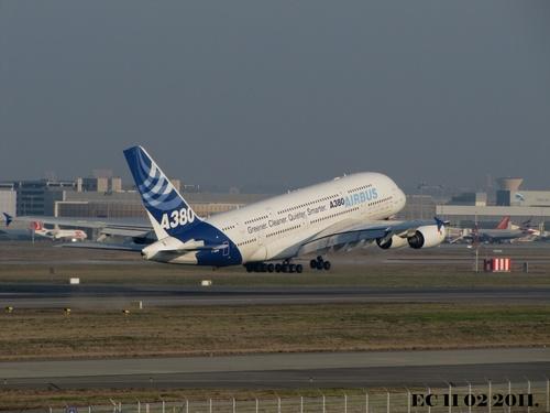 Airbus A380 FWWOW