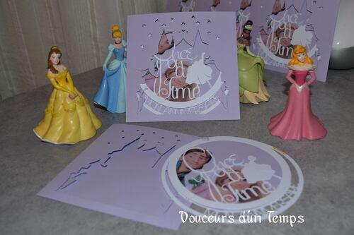 Invitation de princesse
