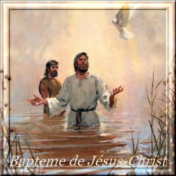 Bapteme du Christ