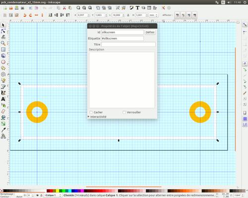 Créer un composant pour fritzing