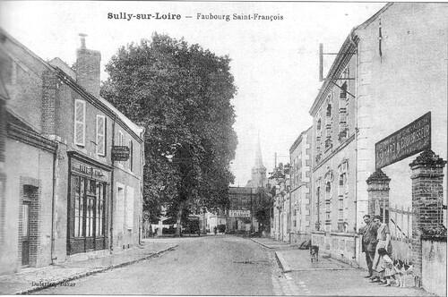 Le vrai faubourg Saint-François
