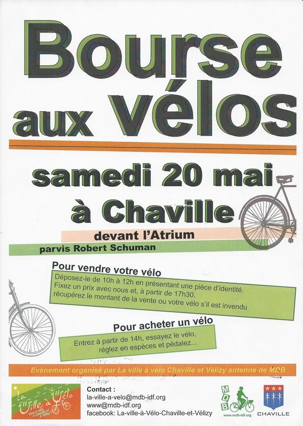 La bourse aux Vélos de Chaville