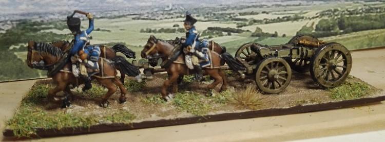 Trains d'artillerie 1°Empire