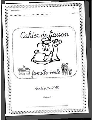 Page de garde pour cahier de liaison 2017-2018
