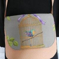 l'oiseau en cage VENDU