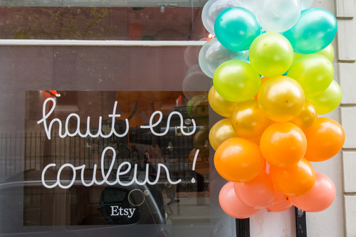 Showroom Etsy Haut en Couleur Paris