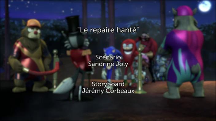 Sonic Boom - 2x39 - Le repaire hanté