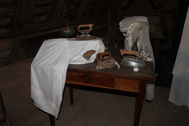 L'intérieur du château