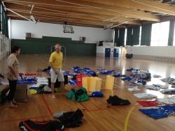 préparation des équipements du BCT