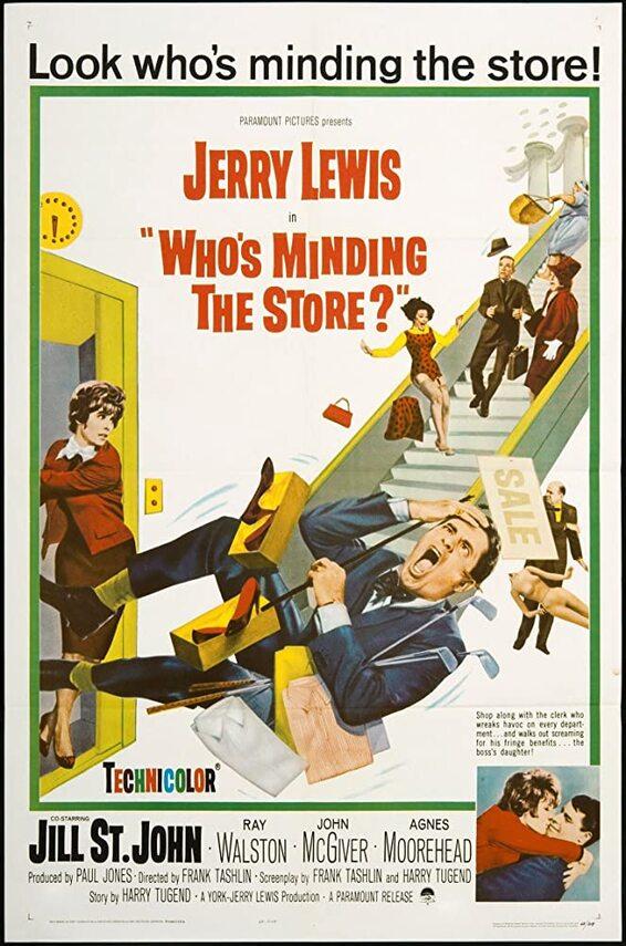 whos minding the store BOX OFFICE USA DU 3 DECEMBRE 1963 AU 9 DECEMBRE 1963