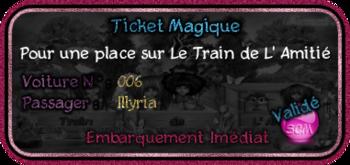 Train de L' Amitié