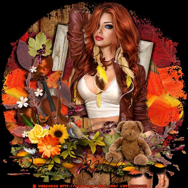 """Tutoriel """"Autumn Lelody"""" de Chrisje traduit chea Delire2scrap"""