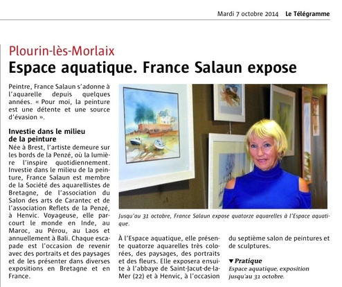 le telegramme 7 oct 2014-page1