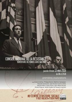 Conseil national de la Résistance • Fonds Louis Saillant
