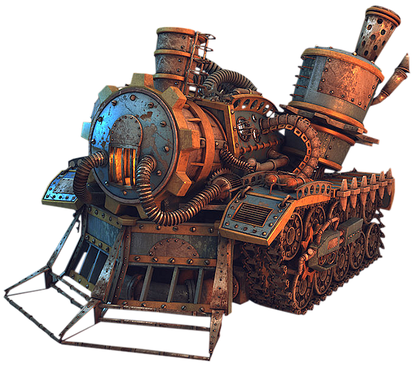 Steampunk locomotions