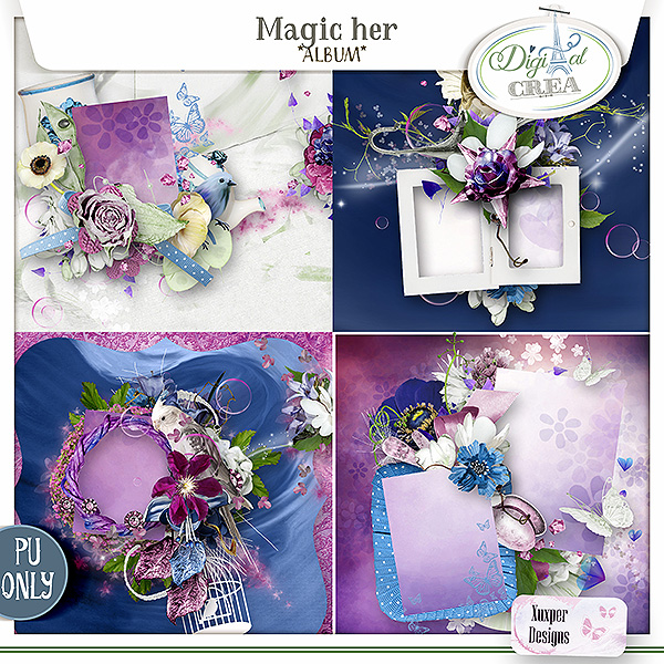Magic her Album de Xuxper Designs
