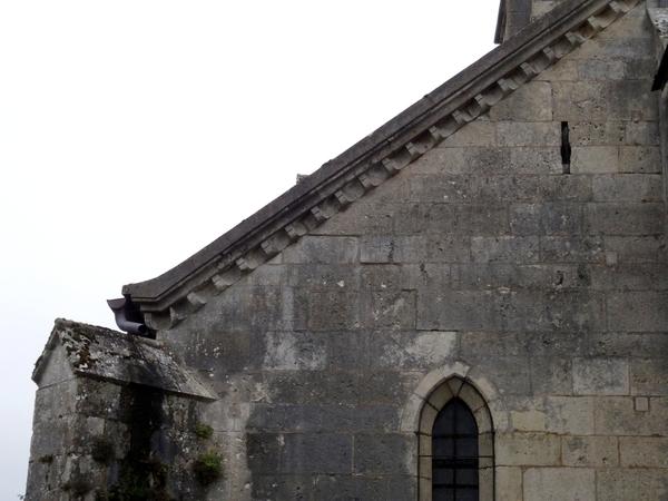 L'église de Coulmier le Sec