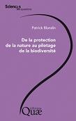Livre - De la protection de la nature au pilotage de la biodiversité