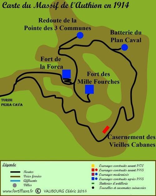 Découverte en images des Forts et ouvrages de l'Authion et des Alpes Maritimes