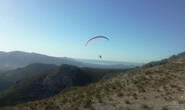 2015-01-05  Premeir vol de l'année au Garlaban