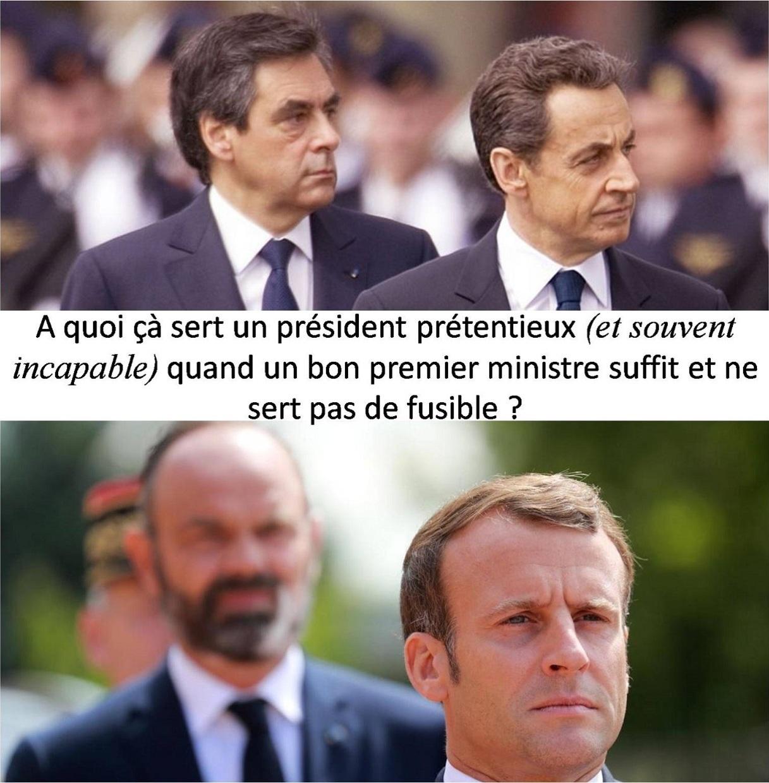 """UN REGIME PARLEMENTAIRE N'A PAS BESOIN D'UN PRESIDENT """"ROI"""" !"""