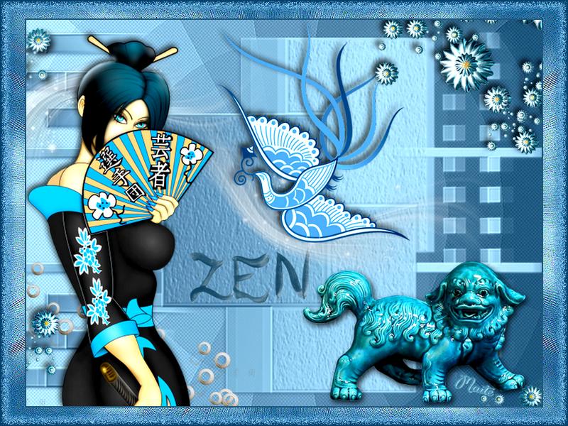 *Bleu de Chine*
