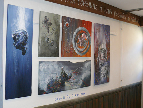 Galerie de tableaux comment fixer des choses lourdes au mur