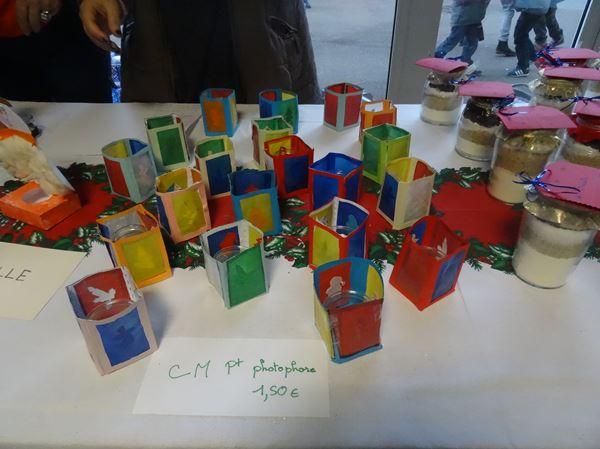 Le marché de Noël 2016 de l'école Saint Bernard de Châtillon sur Seine a toujours autant de succès !