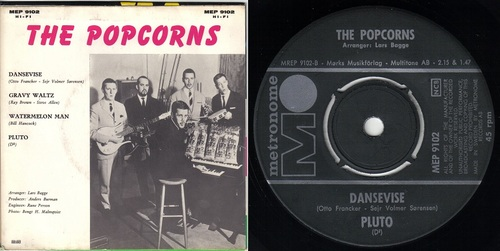 THE POPCORNS - SWEDISH BAND