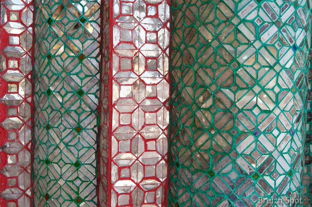 Shwedagon - Mosaïques en verre