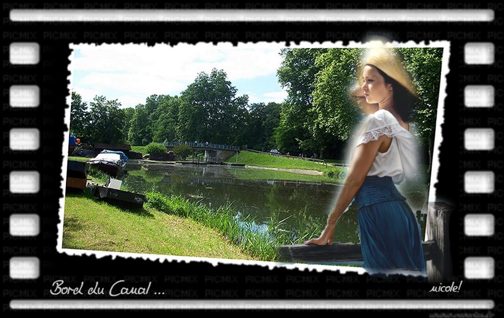 Promenade aux abords du canal !
