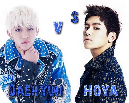 Daehyun (B.A.P) vs Hoya (Infinite) - Round 50